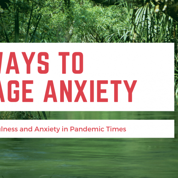 Nature to manage anxiety